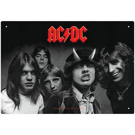 View larger image of AC/DC Highway to Hell Tin Sign