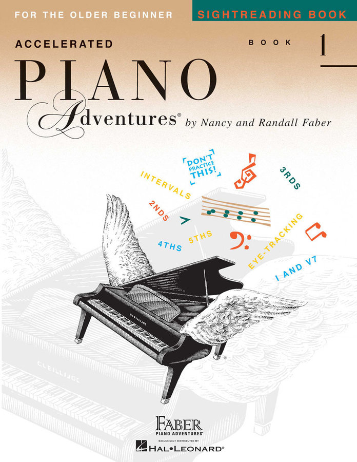 View larger image of Accelerated Piano Adventures for the Older Beginner - Sightreading Book 1