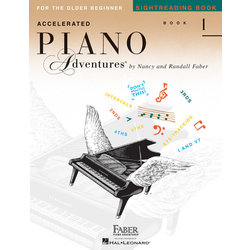 Accelerated Piano Adventures for the Older Beginner - Sightreading Book 1