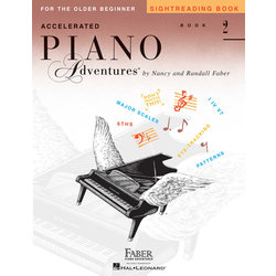 Accelerated Piano Adventures for the Older Beginner - Sightreading Book 2
