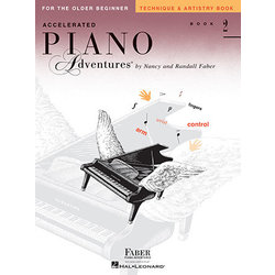 Accelerated Piano Adventures for the Older Beginner - Technique & Artistry, Book 2