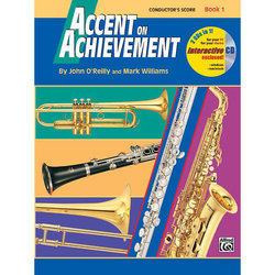 Accent on Achievement Book 1 - Conductor