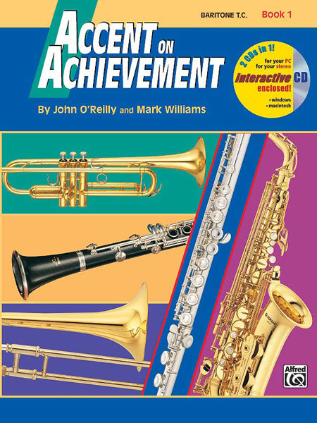View larger image of Accent on Achievement Book 1 with CD - Baritone TC