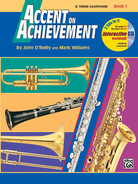 View larger image of Accent on Achievement Book 1 with CD - Tenor Saxophone