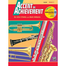 Accent on Achievement Book 2 with CD - Flute