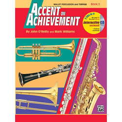 Accent On Achievement Book 2 with CD - Mallet Percussion