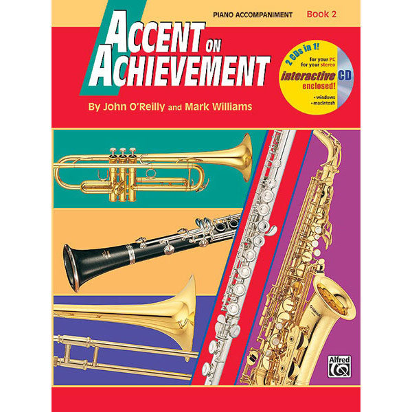 View larger image of Accent on Achievement Book 2 with CD - Piano Accompaniment