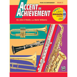 Accent on Achievement Book 2 with CD - Piano Accompaniment