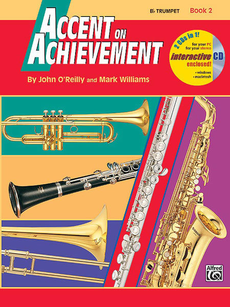View larger image of Accent On Achievement Book 2 with CD - Trumpet