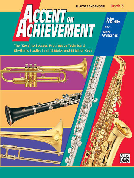 View larger image of Accent On Achievement Book 3 - Alto Sax