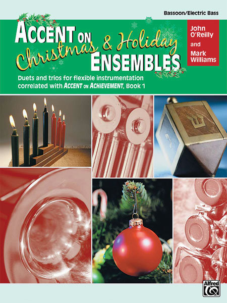 View larger image of Accent on Christmas & Holiday Ensembles - Bassoon/Bass