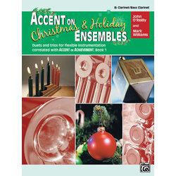 Accent on Christmas & Holiday Ensembles - Clarinet/Bass Clarinet