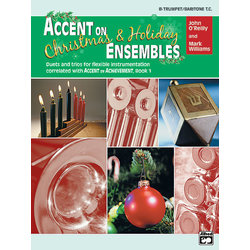 Accent on Christmas & Holiday Ensembles - Trumpet