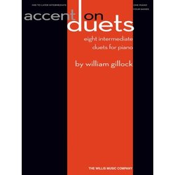 Accent On Duets - Eight Intermediate Duets For Piano