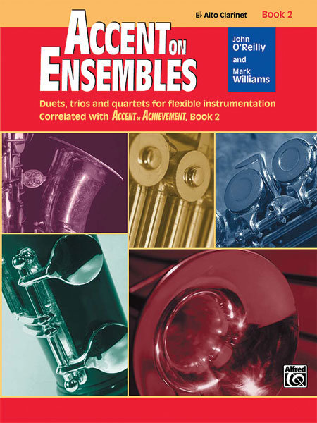 View larger image of Accent on Ensembles Book 2 - Alto Clarinet