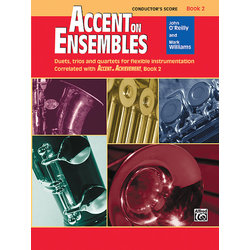Accent on Ensembles Book 2 - Conductor