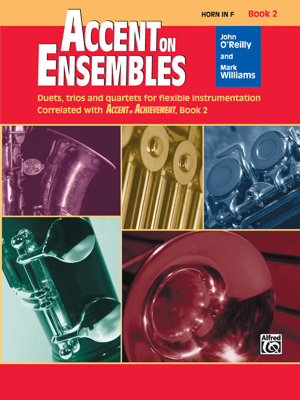 View larger image of Accent on Ensembles Book 2 - F Horn