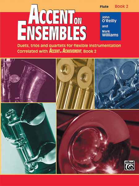 View larger image of Accent on Ensembles Book 2 - Flute