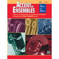 Accent on Ensembles Book 2 - Oboe
