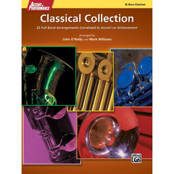 Accent On Performance Classical Collection - Bass Clarinet