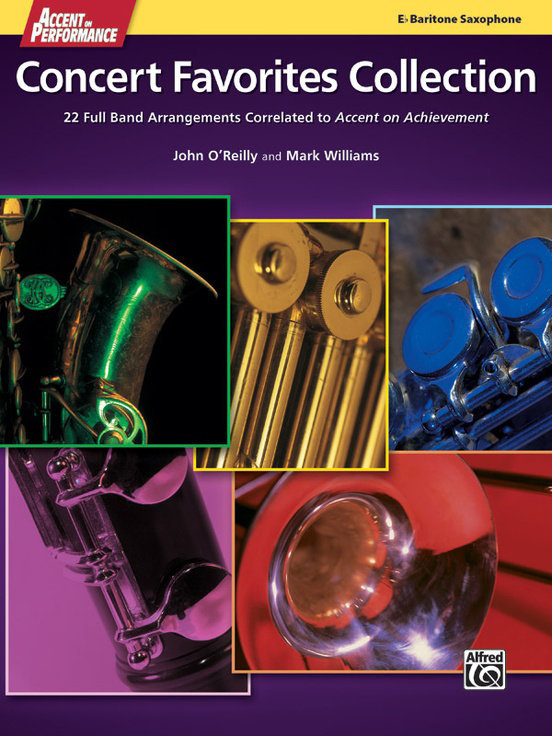 View larger image of Accent On Performance Concert Favorites Collection - Bari Sax