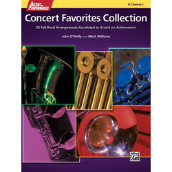 Accent On Performance Concert Favorites Collection - Clarinet 1