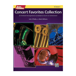 Accent On Performance Concert Favorites Collection - Clarinet 2