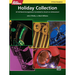 Accent On Performance Holiday Collection - Tenor Sax