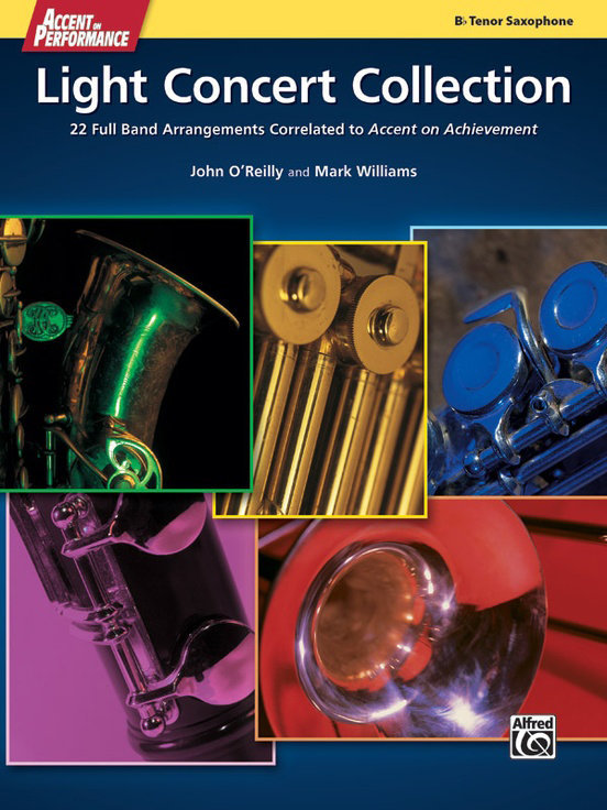 View larger image of Accent On Performance Light Concert Collection - Tenor Sax