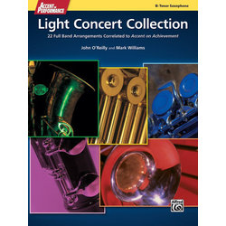 Accent On Performance Light Concert Collection - Tenor Sax