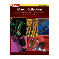 Accent On Performance March Collection - Tenor Sax
