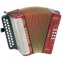 Accordion Hohner 3000GR 1600/2 Erica GC HT Red