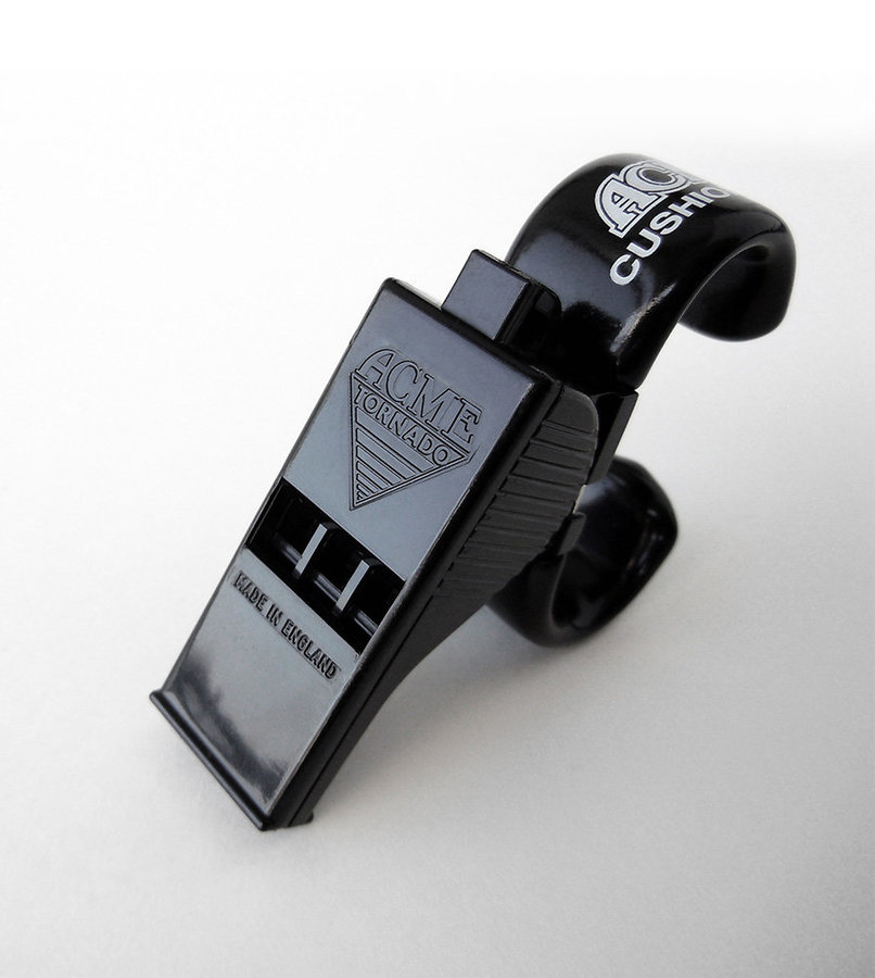 View larger image of Acme 477/622 Tornado Pealess Whistle with Finger Grip