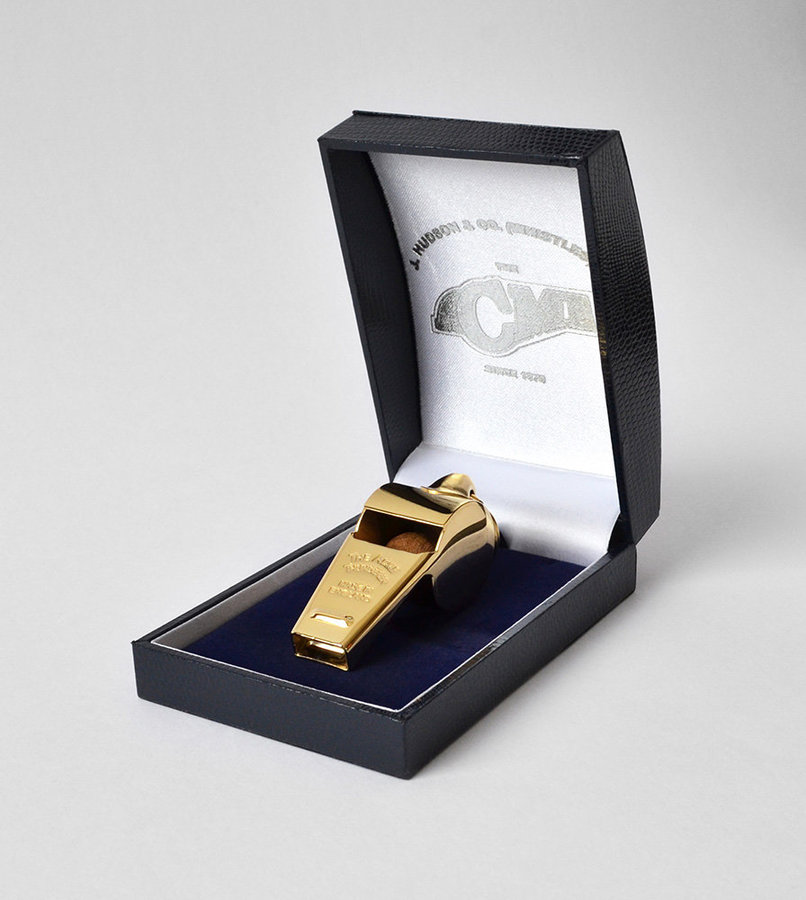 View larger image of Acme 58.5 Awards Whistle with Box - Gold Plated