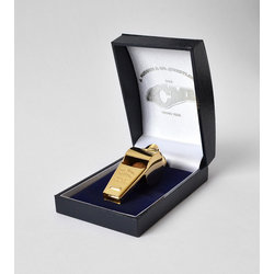 Acme 58.5 Awards Whistle with Box - Gold Plated