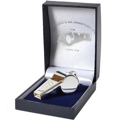 Acme 58.5 Awards Whistle with Box - Silver