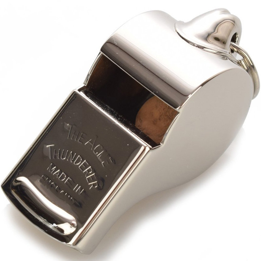 View larger image of Acme 58 Thunderer Whistle - Nickel Plated