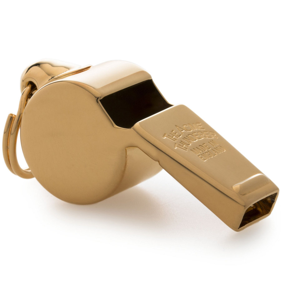 View larger image of Acme 59.5 Awards Whistle with Box - Gold Plated
