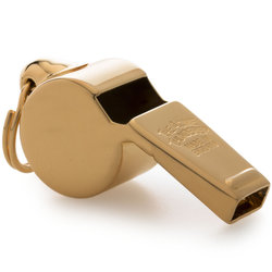 Acme 59.5 Awards Whistle with Box - Gold Plated