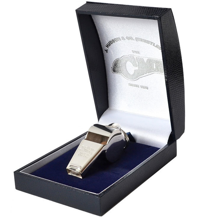 View larger image of Acme 59.5 Awards Whistle with Box - Silver Plated
