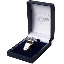 Acme 60.5 Awards Whistle with Box - Silver