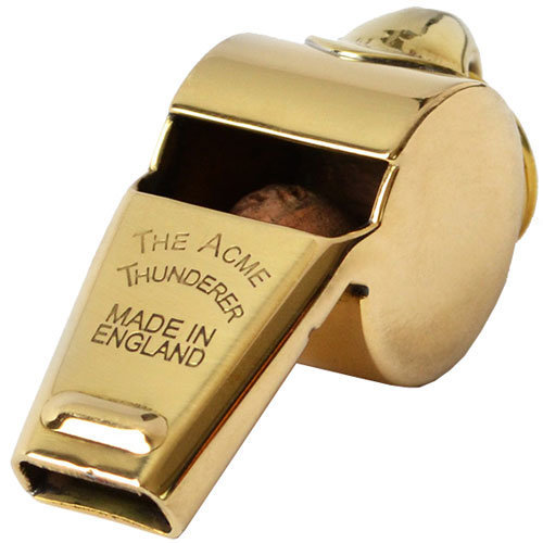 View larger image of Acme 605 Awards Whistle - Polished Brass