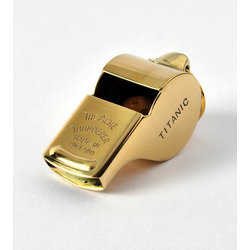 Acme SS57 Titanic Mate's Whistle - Polished Brass