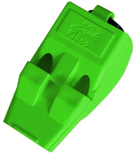 View larger image of Acme T2000 S.O.L.A.S. Tornado Pealess Whistle - Green