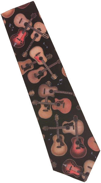 View larger image of Acoustic Guitar Crazy Tie
