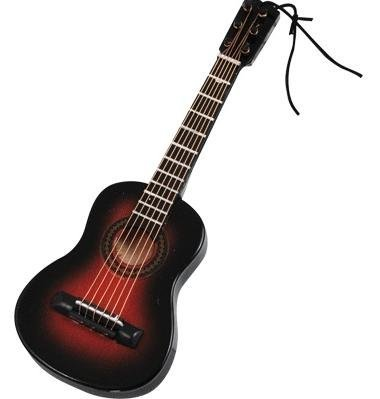 View larger image of Acoustic Guitar Ornament - Brown