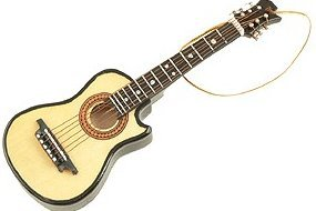 View larger image of Acoustic Guitar Ornament - Cut Away, 5