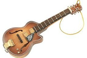 View larger image of Acoustic Guitar Ornament - F Hole