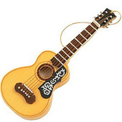 Acoustic Guitar Ornament - Spanish Style, 5
