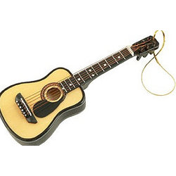 Acoustic Guitar Ornament with Pick Guard